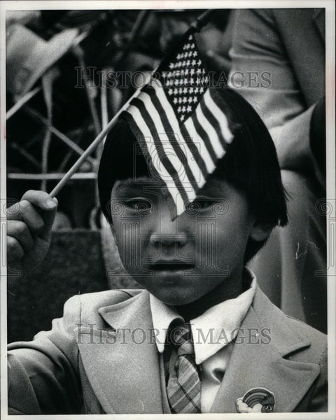 1982 Press Photo The Fourth of July Revolution USA - Historic Images