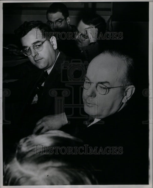 1946 Press Photo John Synder Government Official War - Historic Images