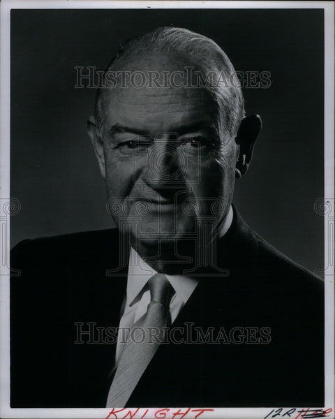 Press Photo John Knight American lawyer politician - Historic Images