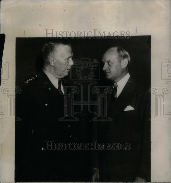 1944 Press Photo George Marshall military leader Chief - Historic Images