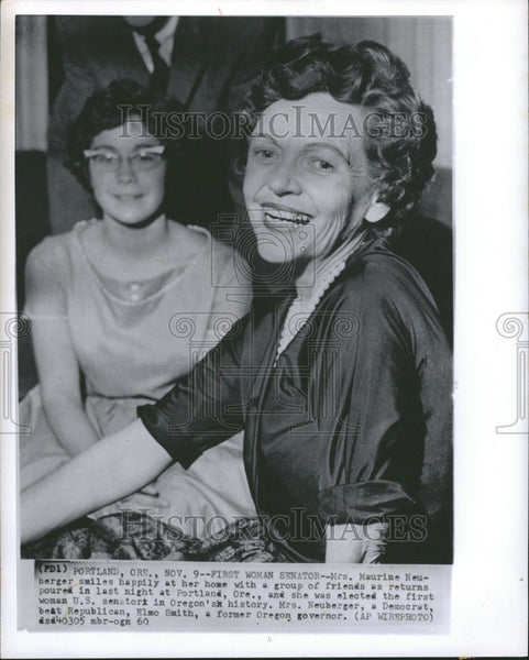 1960 Press Photo Maurine Neuberger Oregon US senator - Historic Images