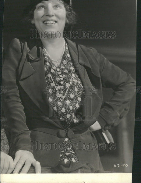 1932 Press Photo Polly Moran Actress - Historic Images