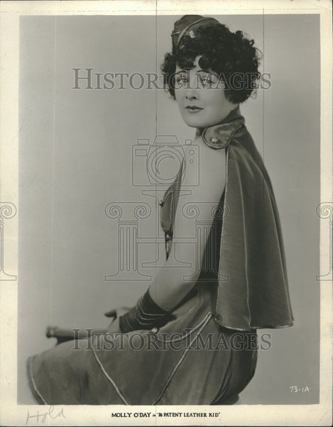 1928 Press Photo Molly O'Day Patent Leather Kid Movie - Historic Images