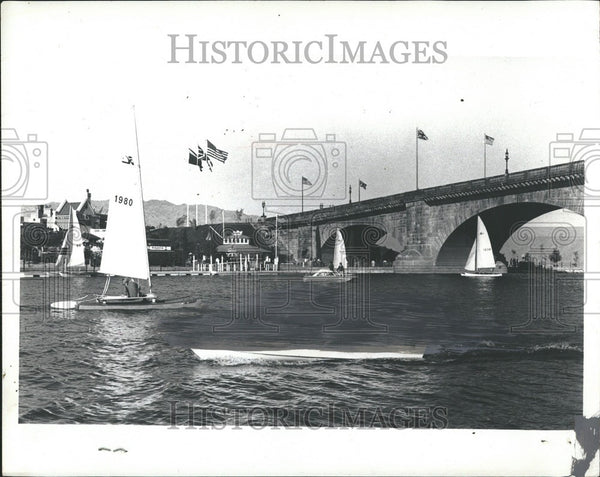 1974 Press Photo Lake Havasu City Arizona - Historic Images