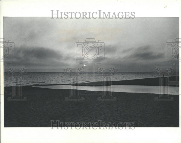 1983 Press Photo Lake Michigan Great Lake United States - Historic Images