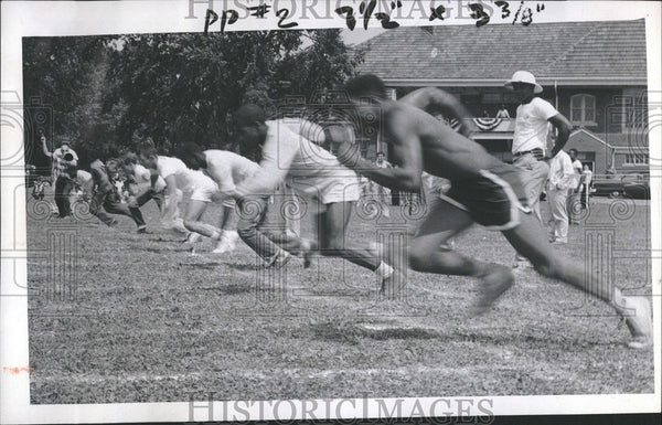 1957 Press Photo Olympic Games - Historic Images