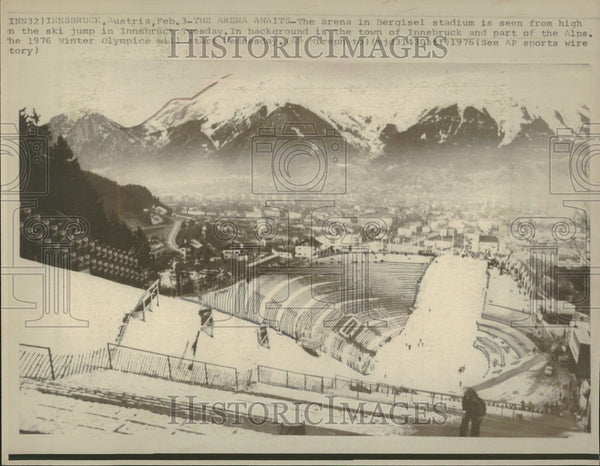 1978 Press Photo Olympic Games Winter Innsbruck Austria - Historic Images