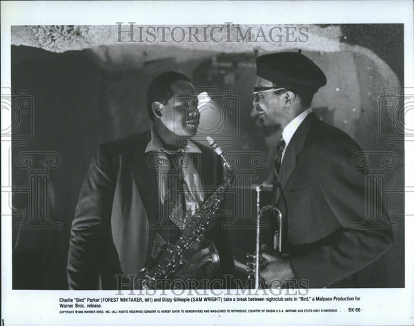 1930 Press Photo Charlie Parker Dizzy Gillespie Bird - Historic Images