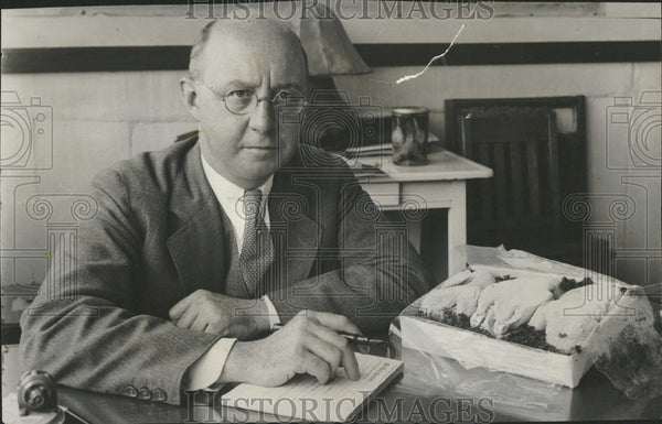 1931 Press Photo Clarence Birdseye Inventor - Historic Images