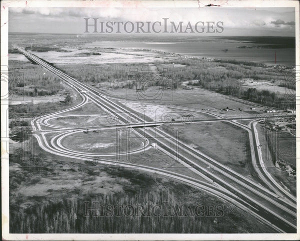 1961 Press Photo Michigan State Highway Department - Historic Images