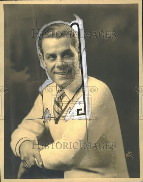 1926 Press Photo Oscar Shaw Actor Singer - Historic Images