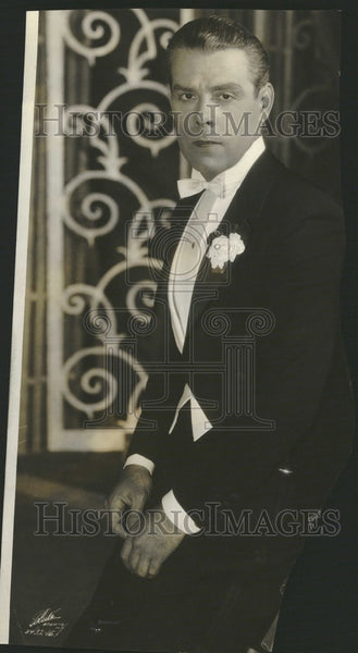 1928 Press Photo Oscar Shaw Actor Singer - Historic Images