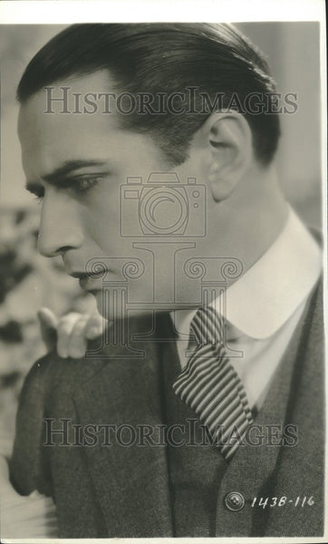 1933 Press Photo Donald Cook Actor - Historic Images