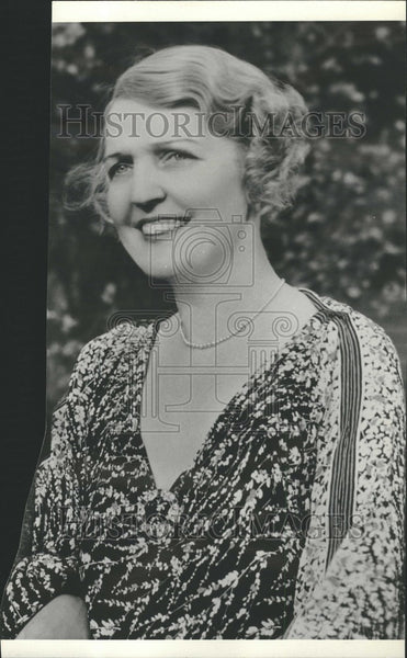 1936 Press Photo Naomi Childers Actress Samuel Goldwyn - Historic Images