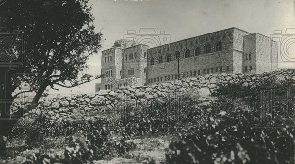 1931 Press Photo Jerusalem home of 3 religions west wal - Historic Images