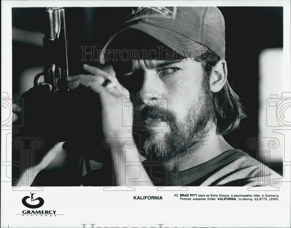 "1933 Press Photo  ""Kalifornia""  Brad Pitt - Historic Images"