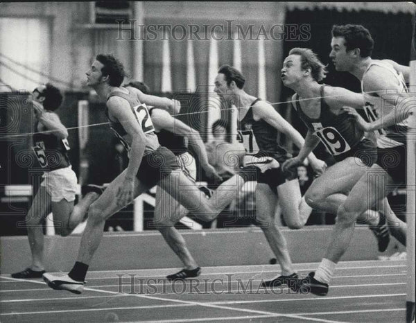 1970 Press Photo National Indoor Athletics at Cosford - Historic Images