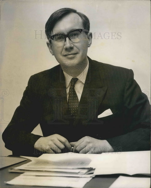 1967 Press Photo William Rees-Mogg, New Editor Of The Times - KSB01281 - Historic Images