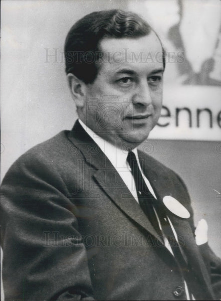 1968 Press Photo Poul Moeller/Conservative Party/Denmark/Politics - KSB01415 - Historic Images