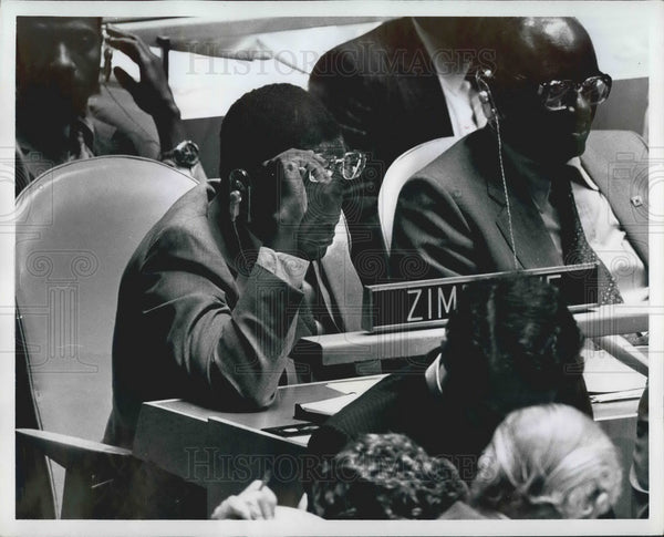 Press Photo Mr. Robert Mugabe - KSB04695 - Historic Images