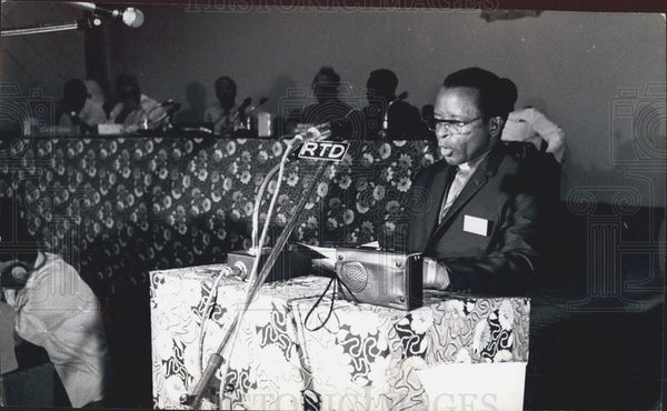 Bishop Abel Muzorewa President of African National Congress - Historic Images