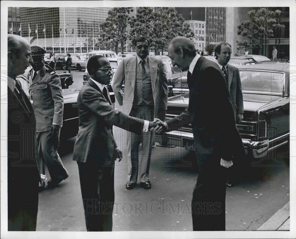 1978 Press Photo President Leopold Senghor of Senegal - KSB04945 - Historic Images