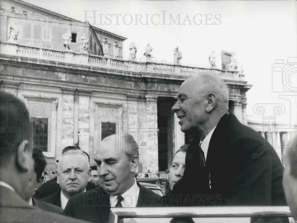 1967 Press Photo President Nicolai Podgorny of Russia - KSB05073 - Historic Images
