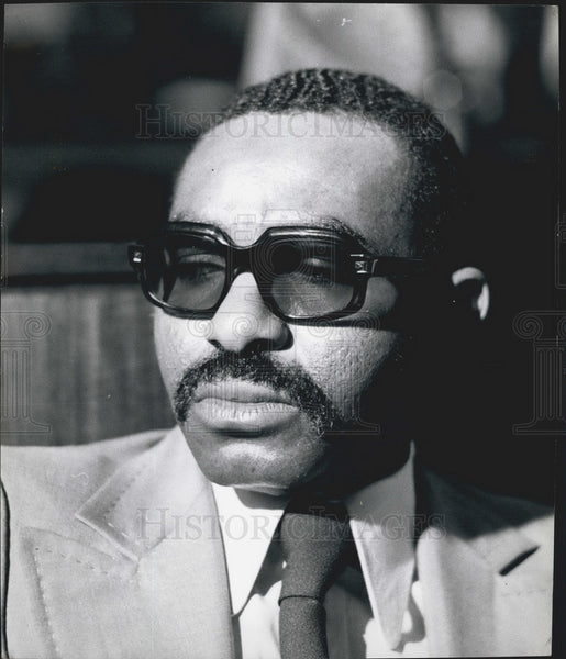 Press Photo William Eteki, Security General, Organization of African Unity - Historic Images