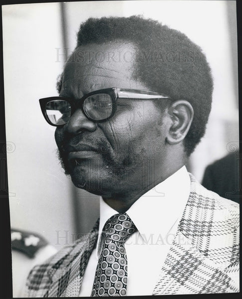 Oliver Tambo, President, African National Congress of South Africa - Historic Images