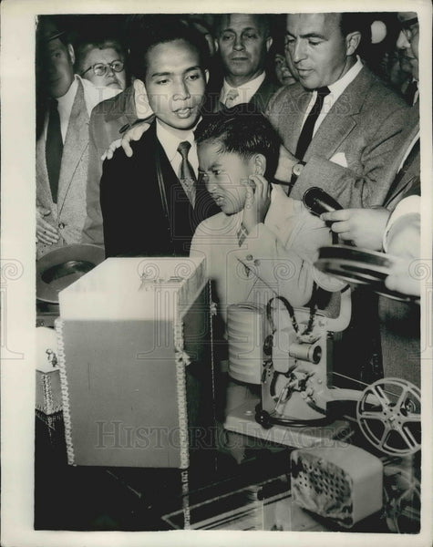 1956, Mohamat Guntur, Son of Indonesian President - KSB10217 - Historic Images