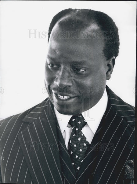 Press Photo J.G. Kereini Permanent Secretary Head Civil Service Republic Kenya - Historic Images