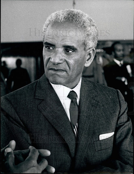 1973 Press Photo Prime Minister of Ethiopia,Teshafi Teezaz Aklilou Habet-Wold - Historic Images