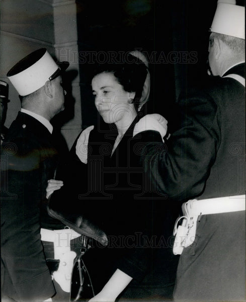 Mme Taron,mother of murder victim at trial of killer - Historic Images