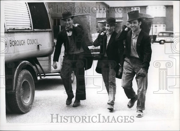 1958 Press Photo James Ruff,John Warren Esq. and David Fidler Esq. - KSB44927 - Historic Images