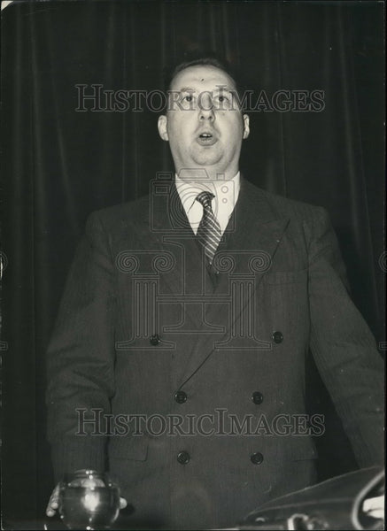 1959 Press Photo M. Maurice-Rene Siomonnet,French politician - KSB48499 - Historic Images