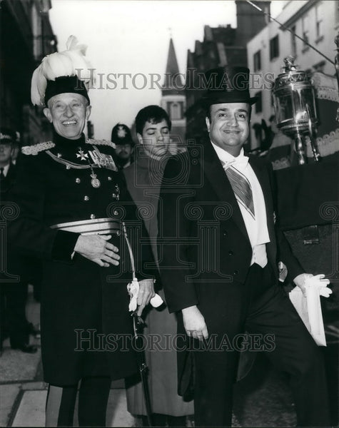 1980 Press Photo Britain ambassador to London presents his credentials - Historic Images