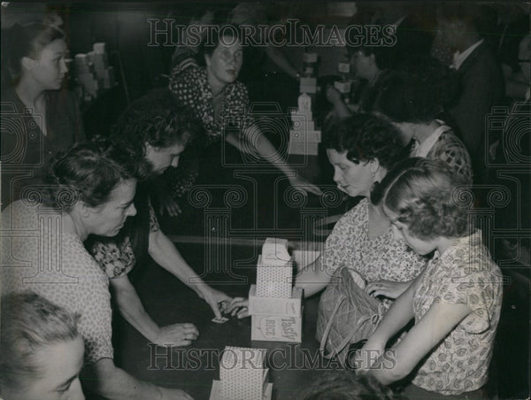 1953 Press Photo Beginning of the food action for residents of Soviet sector - Historic Images