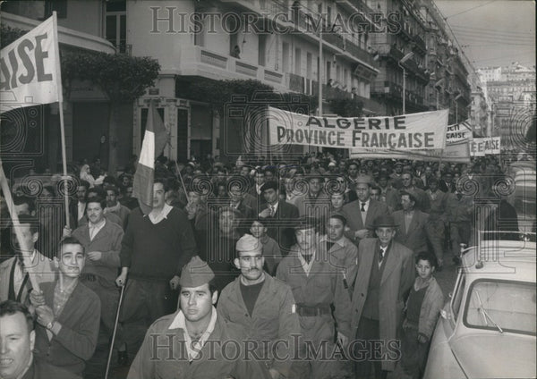 Algiers Demonstration - Historic Images