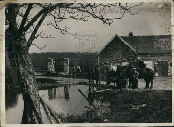 Press Photo French Village. - KSB58879 - Historic Images