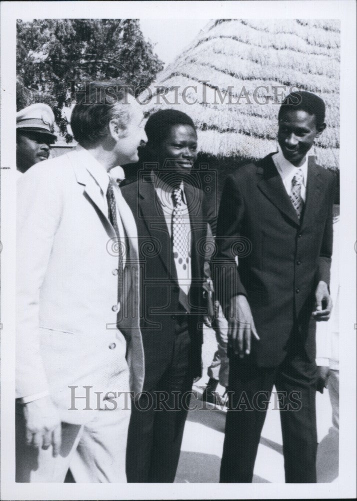 1974 Abdou Dioue, Prime Minister, Senegal - Historic Images