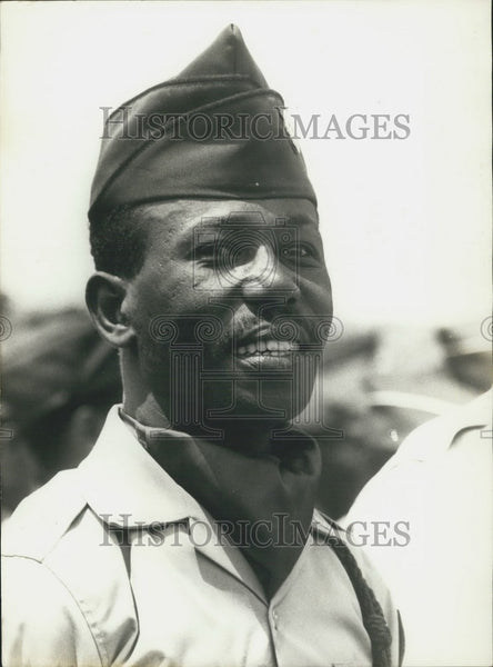1977 Press Photo Lieutenant-Colonel Mengistu Haile Mariam (Ethiopia) - Historic Images
