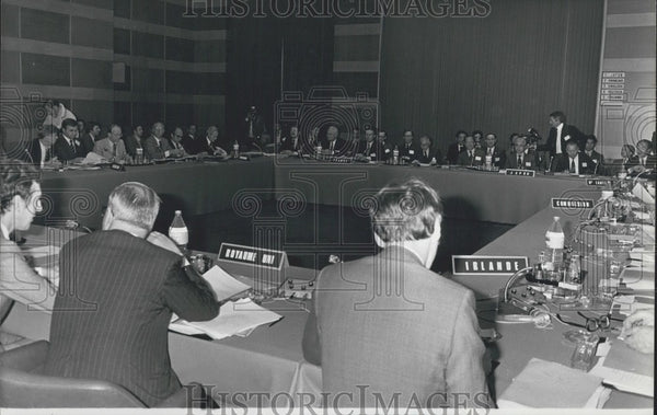 1979 Energy Conference in Paris - Historic Images