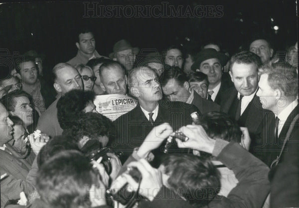 1961 Press Photo M.Gingember, delegate general of the confederation - Historic Images