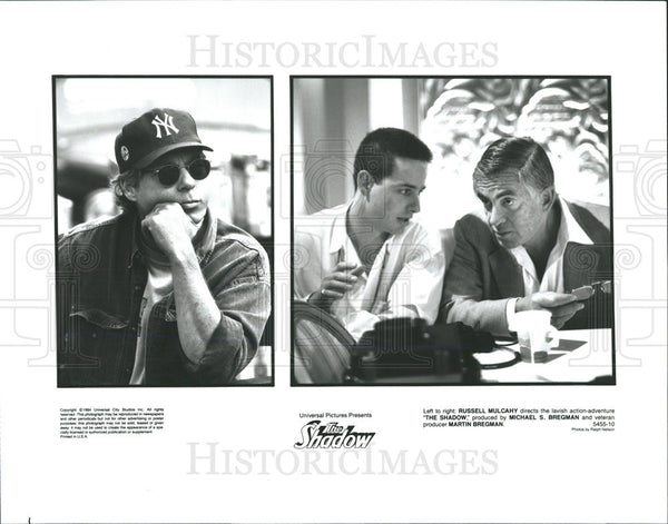 1994 Press Photo The Shadow Russell Mulcahy Directs Michael Bregman Produces - Historic Images