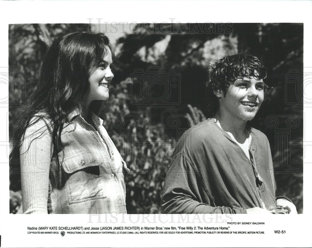 Mary Kate Schellhardt Jason James Richter In Free Willy 2 1995 Vintage Promo Photo Print Historic Images Her zodiac sign is scorpio. 1995 press photo mary kate schellhardt jason james richter in free willy 2