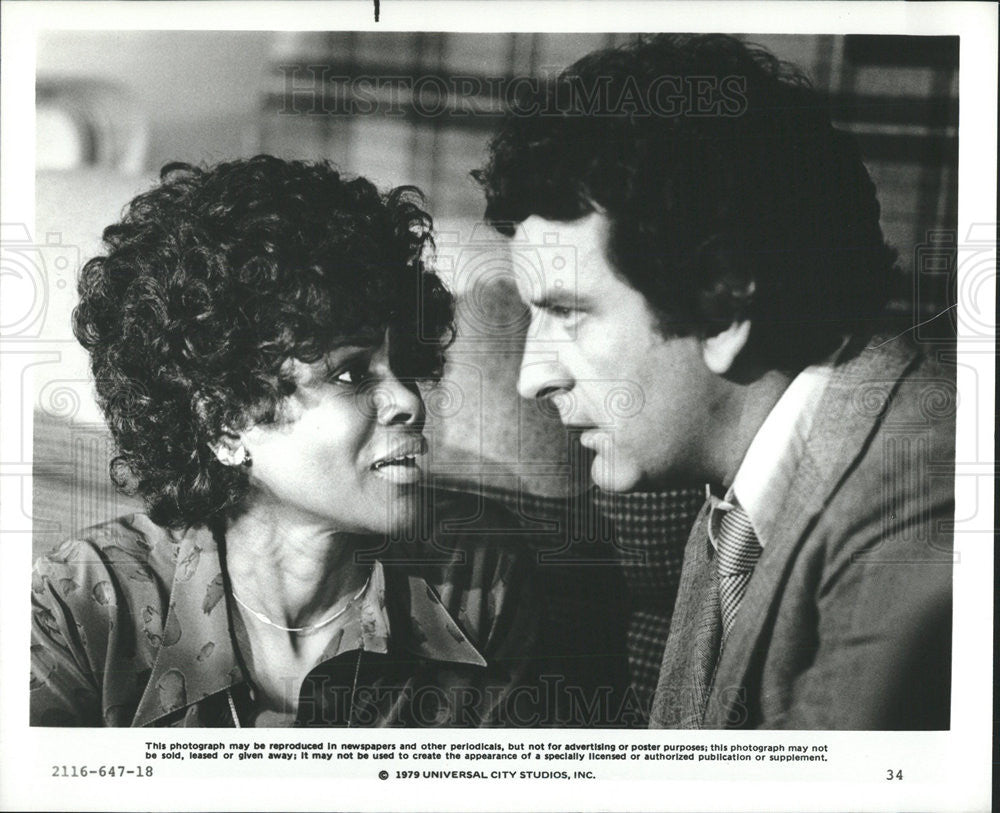 1979 Press Photo Film  The Concorde-Airport'79  Cicely Tyson Nicholas Coster - Historic Images