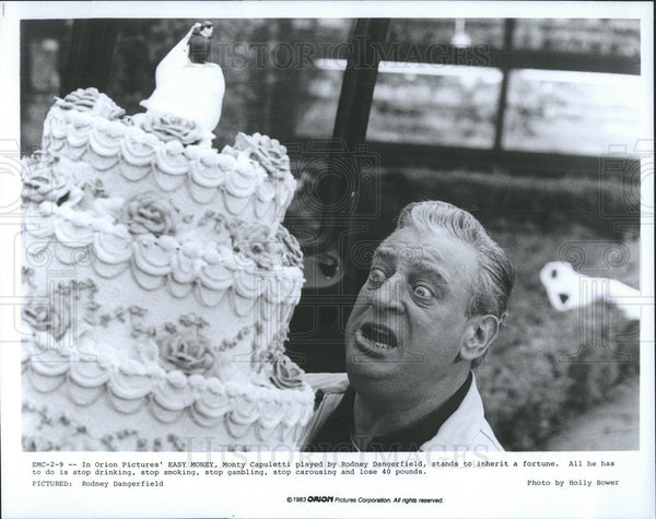 "1983 Press Photo Rodney Dangerfield in ""Easy Money"" - Historic Images"