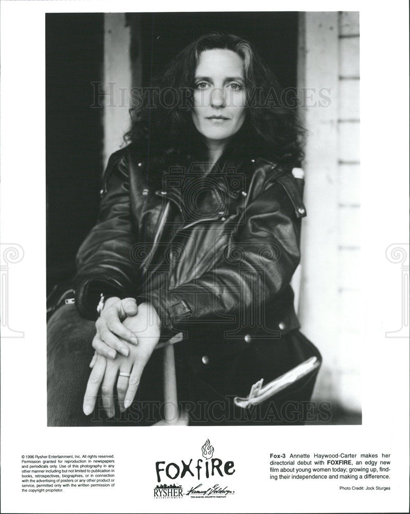1996 Press Photo Foxfire Annette Haywood-Carter - Historic Images