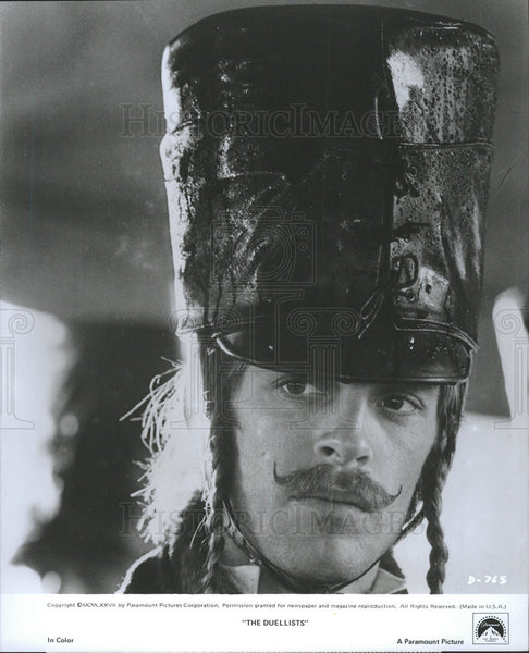 "1977 Press Photo Keith Carradine stars in ""The Duellists"" - Historic Images"