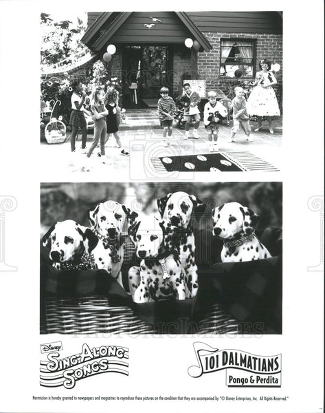 1961 Press Photo Disney's 101 Dalmations - Historic Images